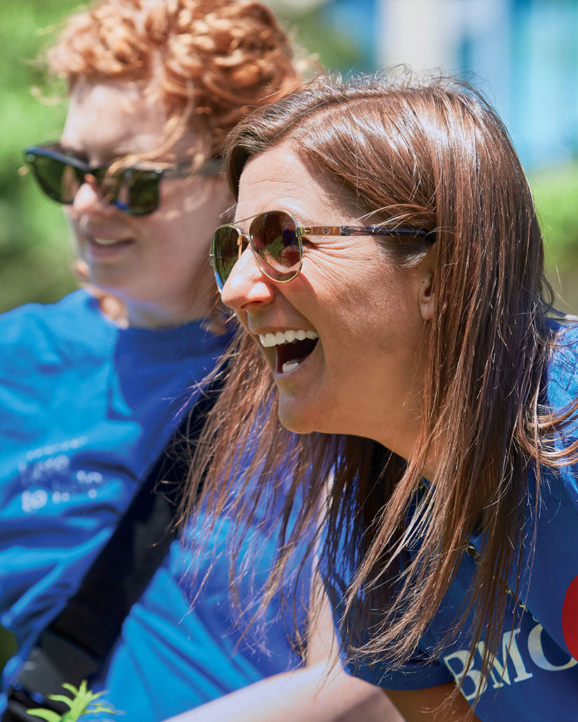 Employees giving back to their community during our annual BMO Volunteer Day.