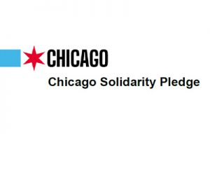 Chicago Solidarity Pledge logo