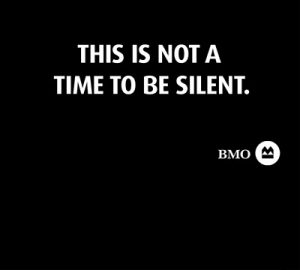 This is no a time to be silent.