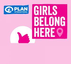 Girls Belong Here logo