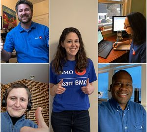 Five BMO Harris employees