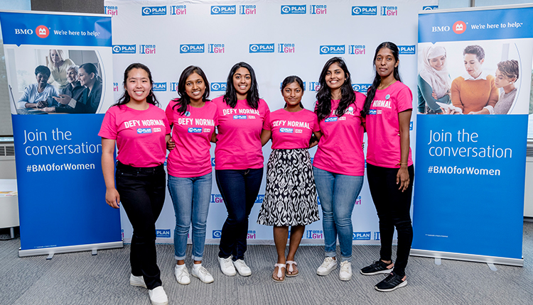 BMO Celebrating Day of the Girl with Plan International Canada