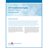 2017 Employment Equity Narrative Report