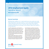 2018 Employment Equity Narrative Report