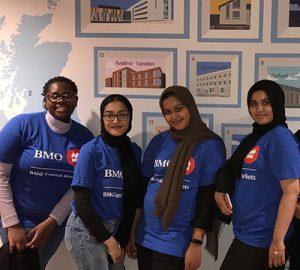 BMO hosted a formal work experience program for A-level students in London, England