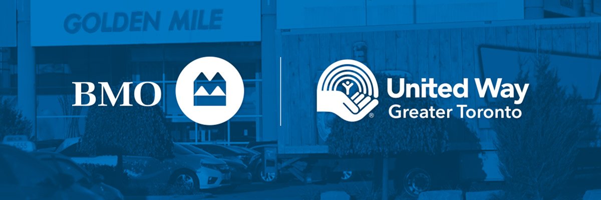BMO and United Way logos