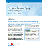 2019 Employment Equity Narrative Report