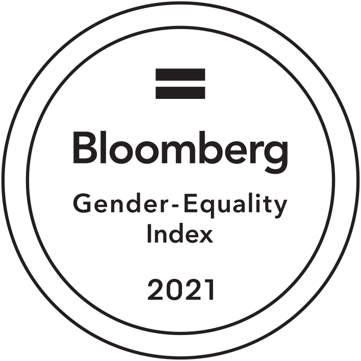 Bloomberg Gender Equality Index - 5th year in a row
